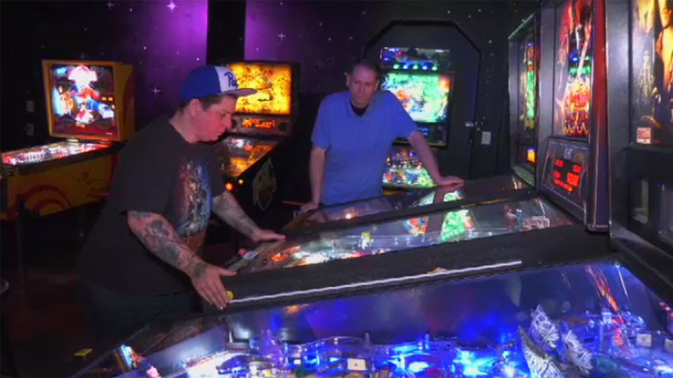 Karrie Hill is a member of the Victoria Pinball League and says she loves the diversity of the group. June 3, 2019. (CTV Vancouver Island)