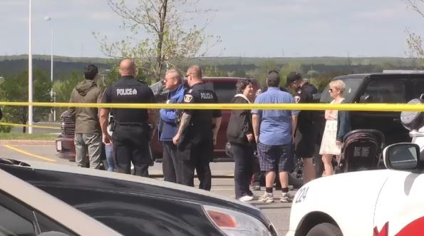 Members of the public intervene in stabbing that sent four victims to hospital. (Lyndsay Aelick/CTV Northern Ontario)