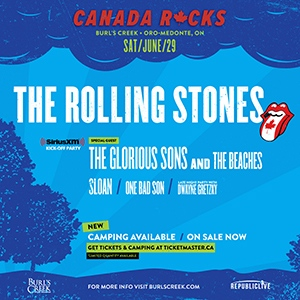 Canada Rocks The Rolling Stones
