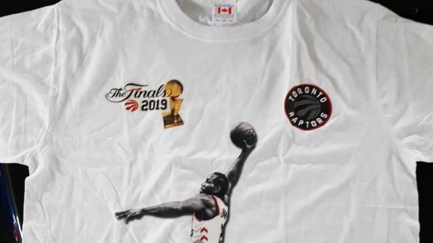 A counterfeit shirt