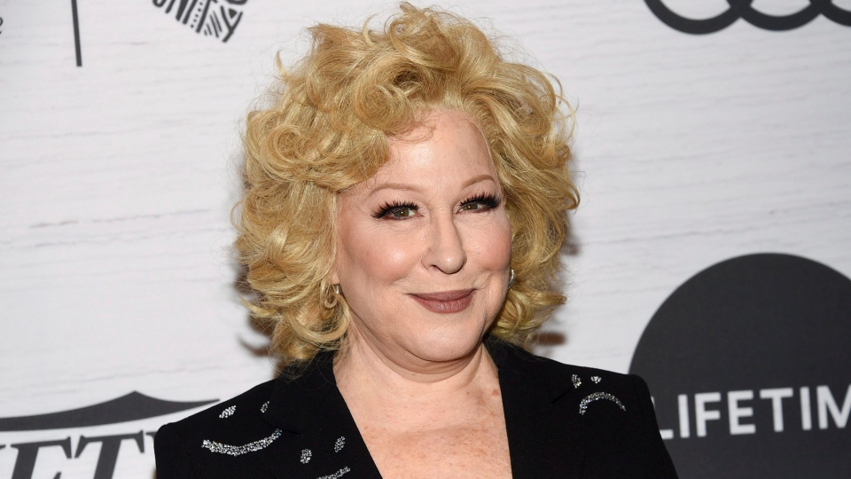 Honoree Bette Midler attends Variety's Power of Women: New York presented by Lifetime at Cipriani 42nd Street on Friday, April 5, 2019, in New York. (Evan Agostini/Invision/AP)
