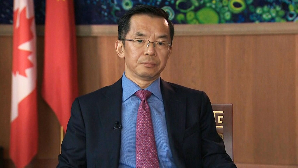 China's ambassador to Canada reassigned to Paris