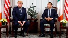 U.S. President Trump meets with Irish PM Varadkar