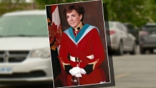 Diane Claveau's grad photo from 1985