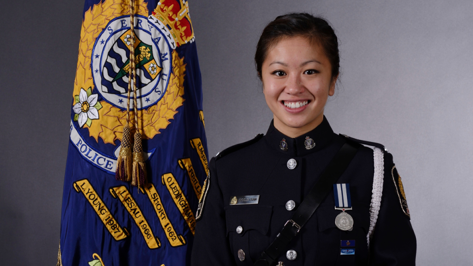 Const. Nicole Chan was on stress leave from the Vancouver Police Department when she died by suicide in January.