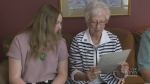 Beth Macdonell speaks to a Winnipeg family,  who's