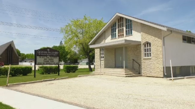 Crestview Fellowship Church in Winnipeg is seen here.