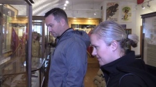 Visitors to museum