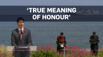 Trudeau honours Canadians who fought in Normandy