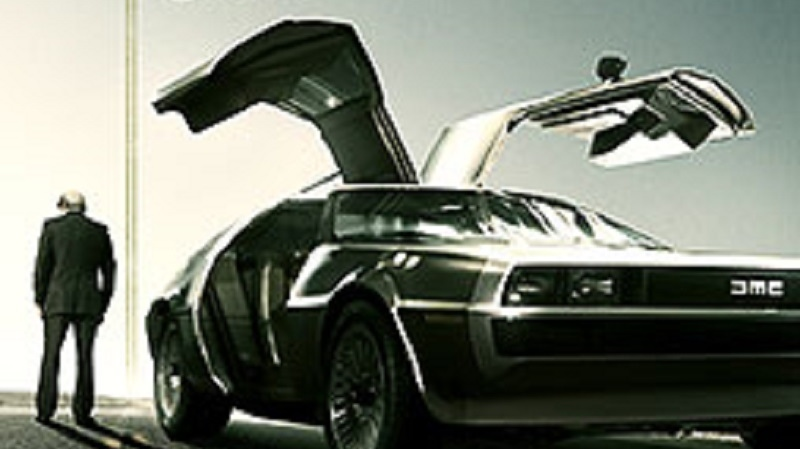 The movie poster for 'Framing John DeLorean' can be seen in this image. (IFC FILMS)
