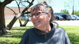 """I think it's amazing because I've been trying so hard,"" military veteran Diane Claveau told CTV Ottawa. She'd served in the army for eight years but has recently been living out of her van parked in the lot of a big box store."