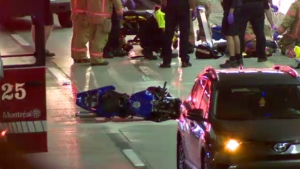 A motorcyclist fatally crashed into the rear of a car on Highway 720 East early the morning of Fri., June 7, 2019.