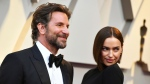 Bradley Cooper, left, and Irina Shayk arrive at the Oscars on Sunday, Feb. 24, 2019, at the Dolby Theatre in Los Angeles. (Photo by Jordan Strauss/Invision/AP)
