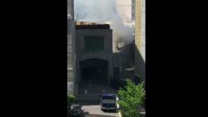 Quebec City fire