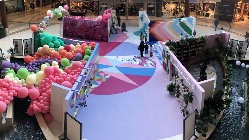 calgary art showcase southcentre mall