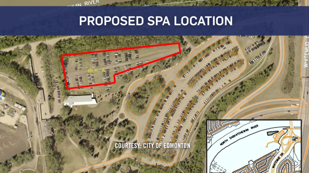 Proposed Nordic Spa to be built near Fort Edmonton Park