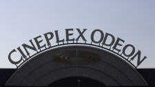 A Cineplex Odeon sign is seen in Toronto, Wednesday, Sept. 27, 2006. (Adrian Wyld / THE CANADIAN PRESS)