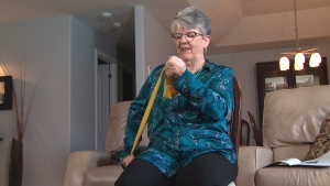 Marie Lapointe, 66, from Russell, Ont. trained for weeks before undergoing a major surgery. She says the benefits were significant.