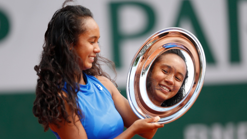 Leylah Annie Fernandez: 16-year-old Montrealer wins girls singles competition at French Open