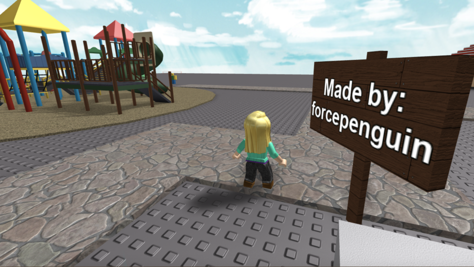 A Montreal boy created a game inside the popular gaming platform Roblox to help teach people about depression. (Paula Toledo/ Roblox)