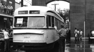 Last tram in Montreal, 1959, STM archives