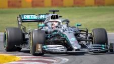 Mercedes driver Lewis Hamilton
