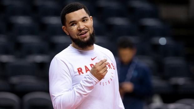 Toronto Raptors' Fred VanVleet