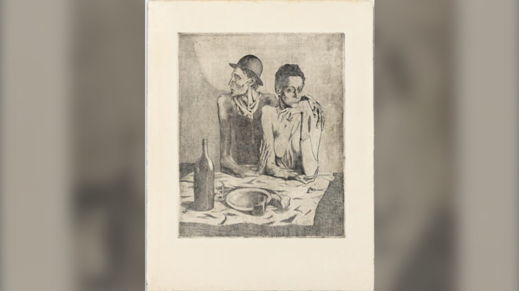 Rare collection of early print works by Picasso hitting the auction block in London