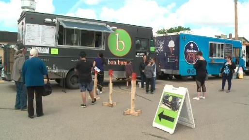 'It's a little bit of everything': Competitors gather for second annual Food Truck Wars