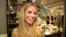 In this image taken from video, actress and blogger Gwyneth Paltow appears at the opening of her pop-up store on Wednesday, Dec. 2, 2015 in New York. (AP Photo/Bastien Inzaurralde)
