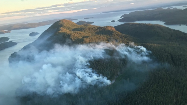 Read Island, Coastal Fire Centre