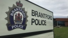 The Brantford police station seen in this undated file photo. (Dan Lauckner / CTV Kitchener)