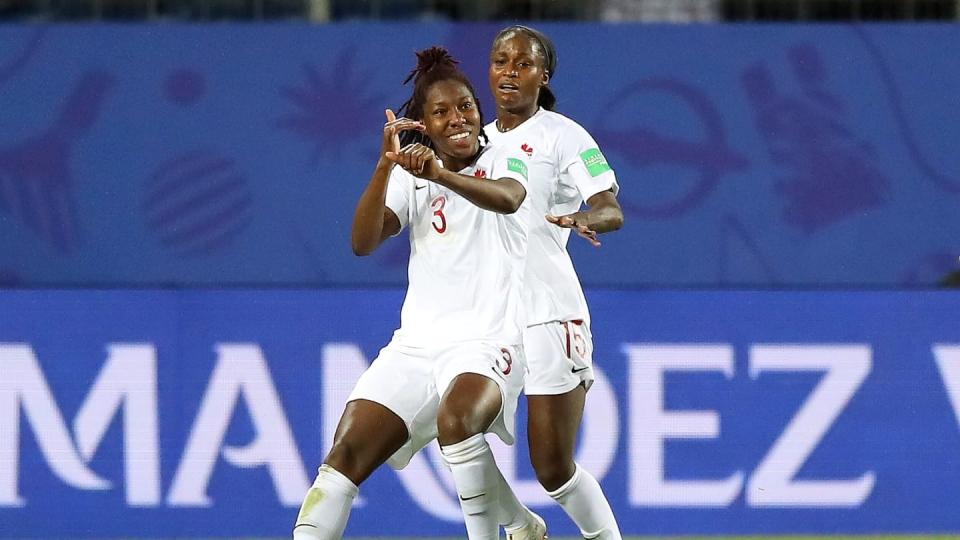 Kadeisha Buchanan scores Canada's only goal