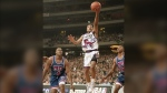 Toronto Raptors' Damon Stoudamire pictured in this November 3, 1995 file photo. (Toronto Archives)