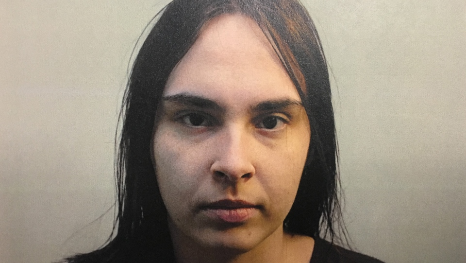 Tasha Mack is seen in this police handout photo provided as evidence by the Court of Queen's Bench of Alberta. (Court of Queen's Bench of Alberta)
