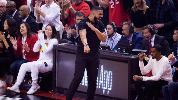 Drake and Wayne Gretzky among the celebrities taking in Game 5 of the NBA Finals