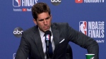Warrior's Bob Myers gives update on Durant injury