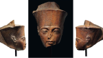 Christie's has announced that the brown quartzite head of the pharaoh -- measuring 28.5 centimetres high and more than 3,000 years old -- would take place on July 4. (Christies)