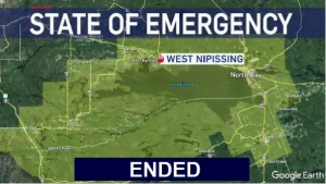 West Nipissing State of Emergency has ended