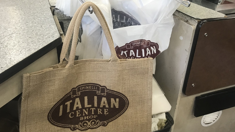 The Italian Centre Shop recently started selling plastic bags for five cents.