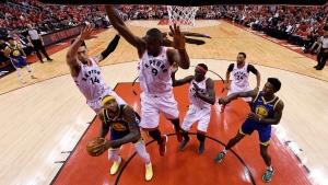 Raptors vs Golden State in Game 5 of NBA Finals