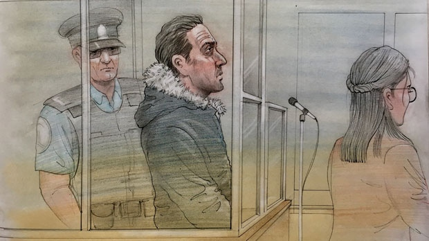 Massimo Ionno, 45, appears in court on June 11, 2019.