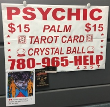Psychic scam