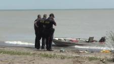 Lake Erie capsize