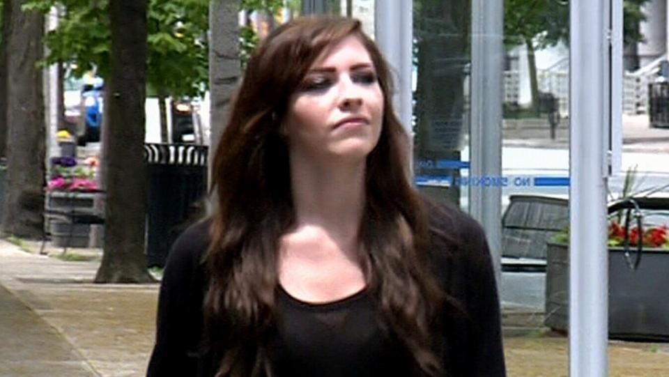 Human trafficking survivor Victoria Morrison