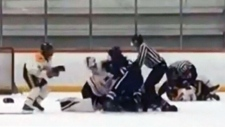 Teen hockey players brawl at Delta tournament