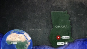 Two kidnapped Canadians rescued in Ghana