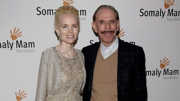 Peter and Mary Max in 2013