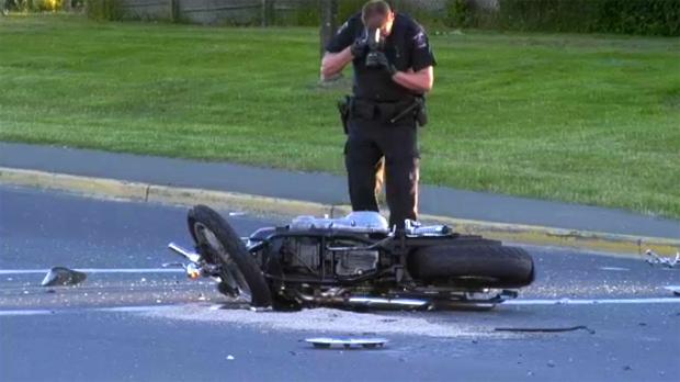 Tillicum crash motorcycle
