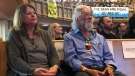 David Suzuki makes an appearance at United Church on Bloor Street on June 10, 2019.